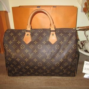 Monogram Canvas Speedy 35 Bag